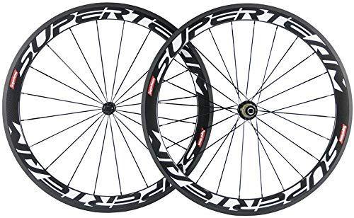 Best Seller Superteam Carbon Fiber Road Bike Wheels 700c Clincher