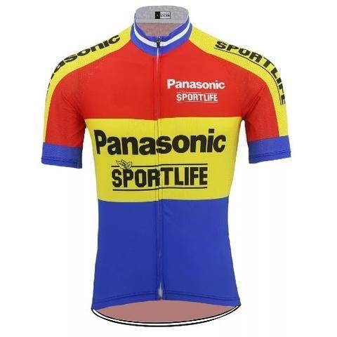 1977 Lejeune BP Cycling Jersey Retro Road Pro Clothing MTB Short Sleeve Racing