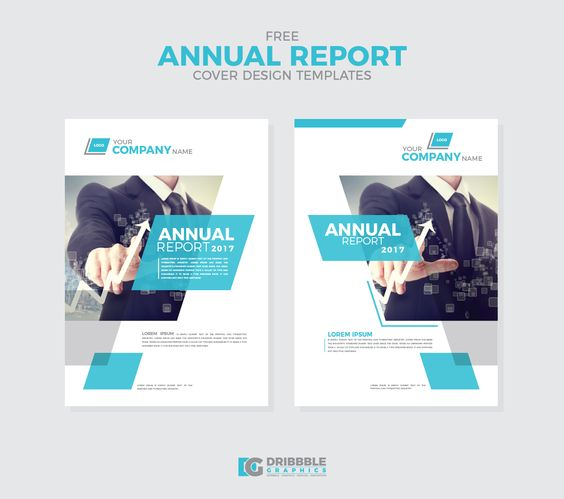 Free-Annual-Report-Cover-Design-Templates Dribbble Graphics - free report cover templates