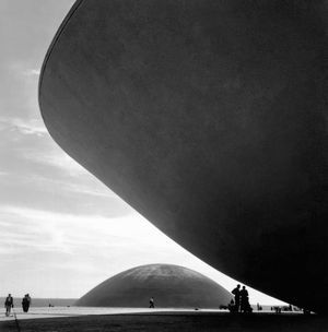 MARCEL GAUTHEROT. National Congress, project by Oscar Niemeyer, Brasília, DF. Brazilcirca 1960
