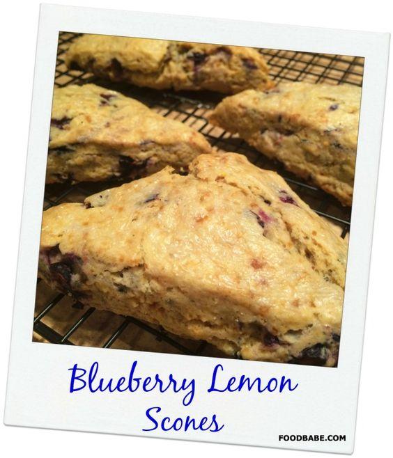 Blueberry Lemon Scones | Recipe | Coconut sugar, Recipe ...