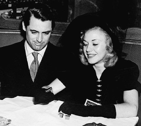 GINGER ROGERS and CARY GRANT .