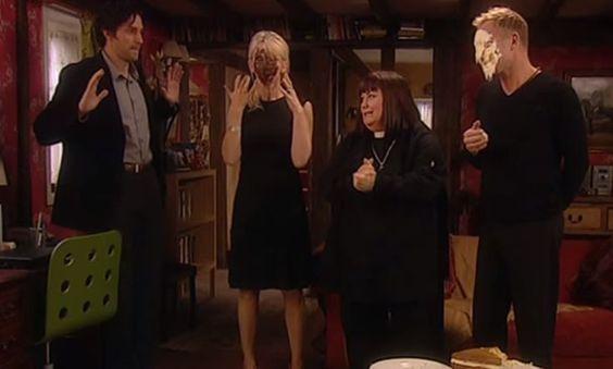 Richard Armitage as Harry Jasper Kennedy in The Vicar of Dibley (2006-2007)