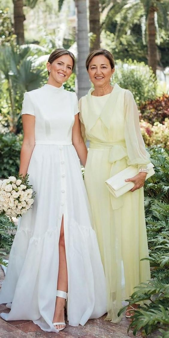 27 Long Mother Of The Bride Dresses | Wedding Dresses Guide