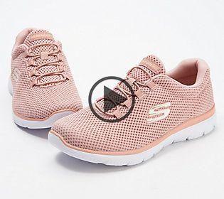 Skechers Mesh-Bungee Slip-On Schuhe