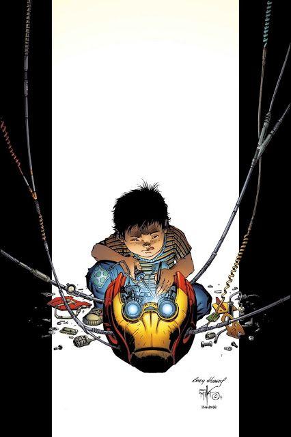 Ultimates - Tony Stark by Andy Kubert