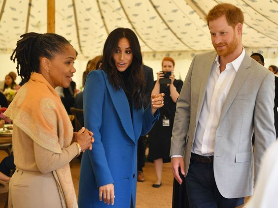 Doria Ragland's moving in with Meghan Markle, Harry and Archie.   Prince Harry and Meghan Latest News