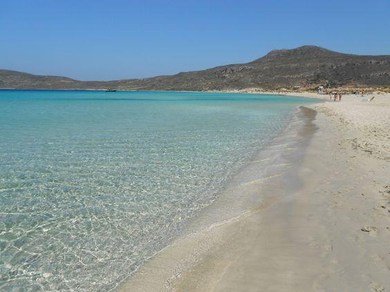 Pure crystal water, Sarakiniko beach