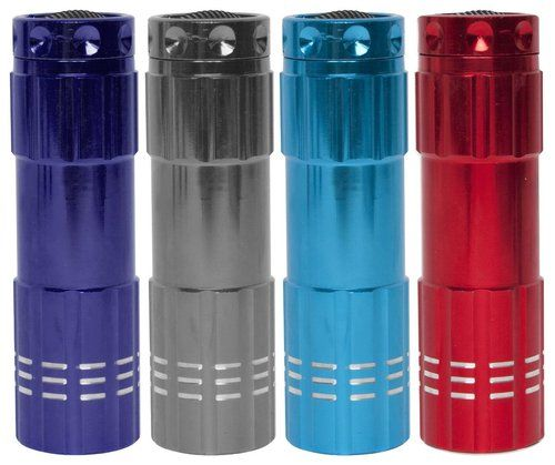 EMERSON FLASHLIGHTS 4-Pack LED Flashlight Multicolors Small Compact NEW