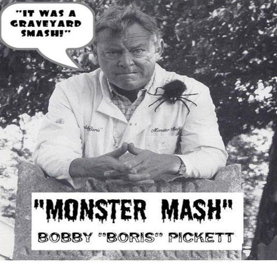 "Monster Mash by Bobby ""Boris"" Pickett"
