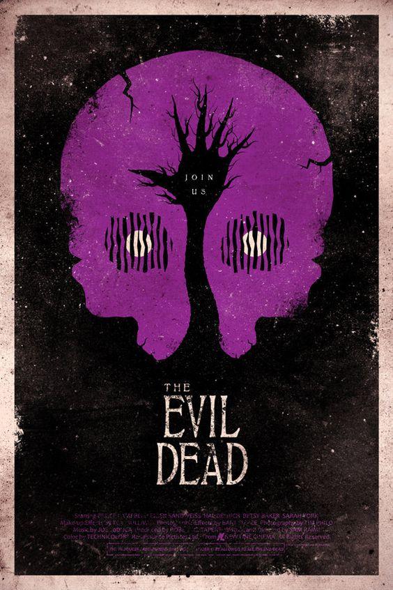 The Evil Dead 24x36 Movie Poster. $45.00, via Etsy.
