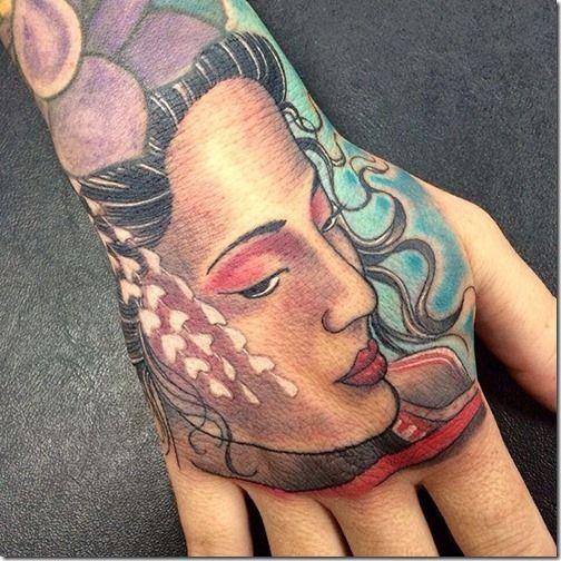 Lovely And Provoking Geisha Tattoos Geisha Tattoo Geisha Tattoo Design Hand Tattoos