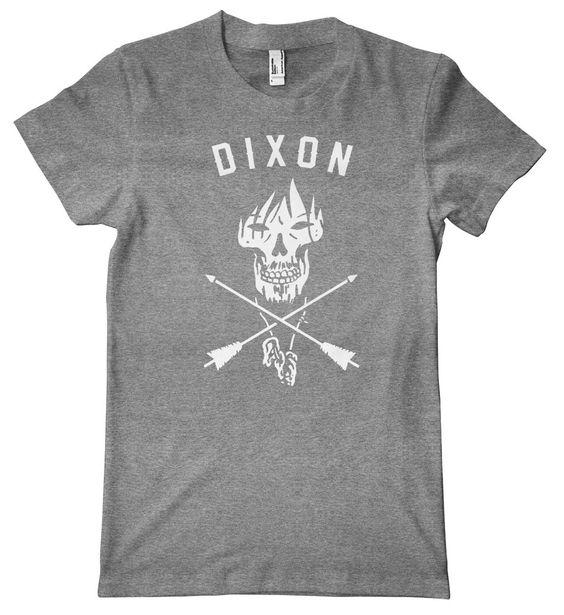 Dixon Skull Arrows American Apparel Tri-Blend T-Shirt – HiveTees