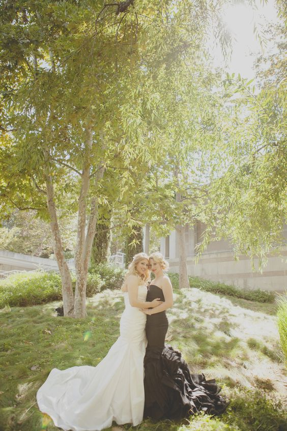Lesbian wedding