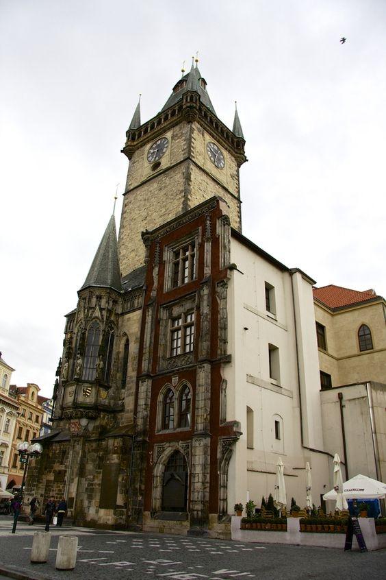 Old Town Hall, Prague. Czech Republic.