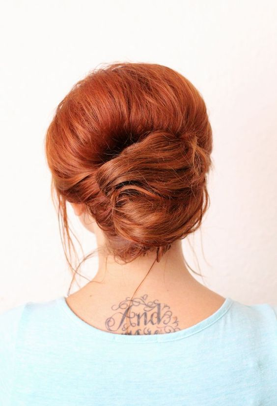 Adorable everyday french twist, cute but I'm not sure my hair would go for this.