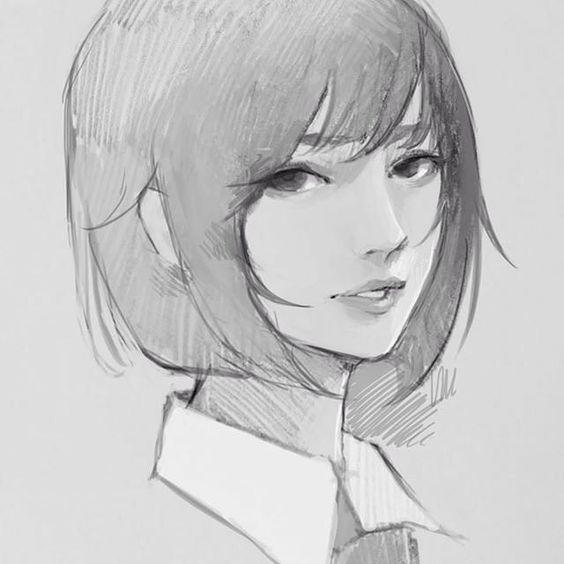 #illustration #girl #girls #school #japan #drawing #photoshop #art #manga #love #follow #l4l #tflers #instagood #instalike #cute #beautiful #イラスト #イラストレーター #絵 #画 #制服 #女子高生 by wataboku__