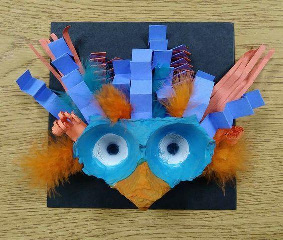 53 Creative DIY Egg Carton Crafts and Ideas