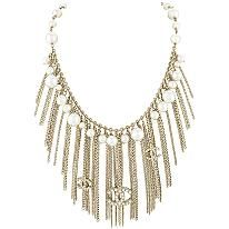 Chanel Pearl Fringe Necklace