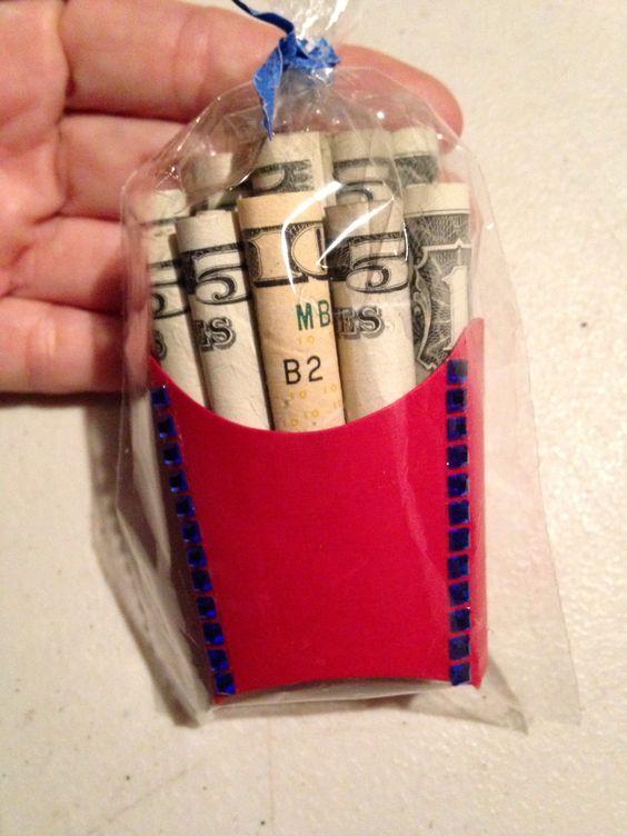 Cool Money Gift Idea Money Fries Ha 39 Aheo Fish Baby