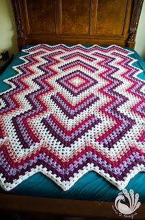 Drop in the Pond Afghan!