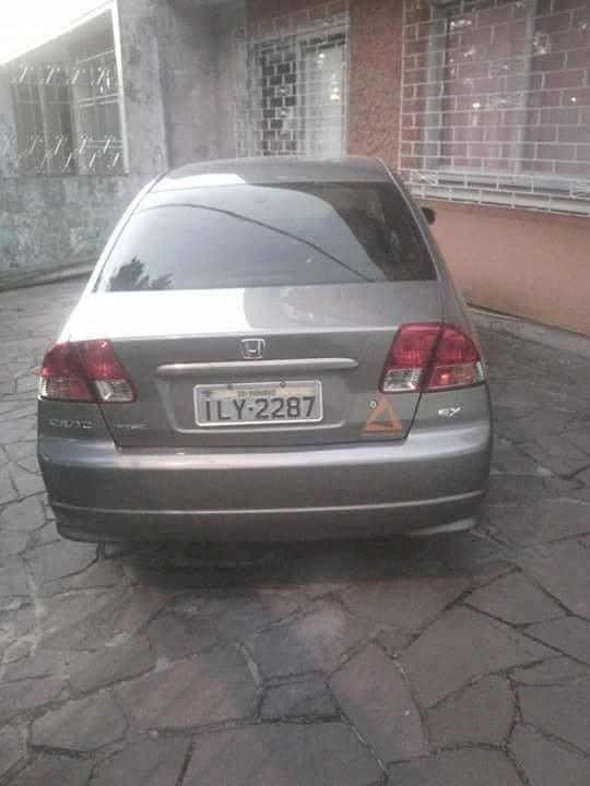 Honda Civic Sedan EX 1.7 16V 130cv Aut. 4p 2004 Gasolina Porto Alegre RS | Roubados Brasil