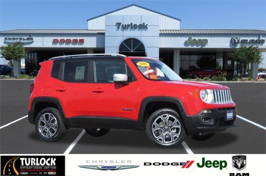 Sport Utility 2016 Jeep Renegade 4wd Limited With 4 Door In Turlock Ca 95380 Jeep Renegade Jeep 2016 Jeep
