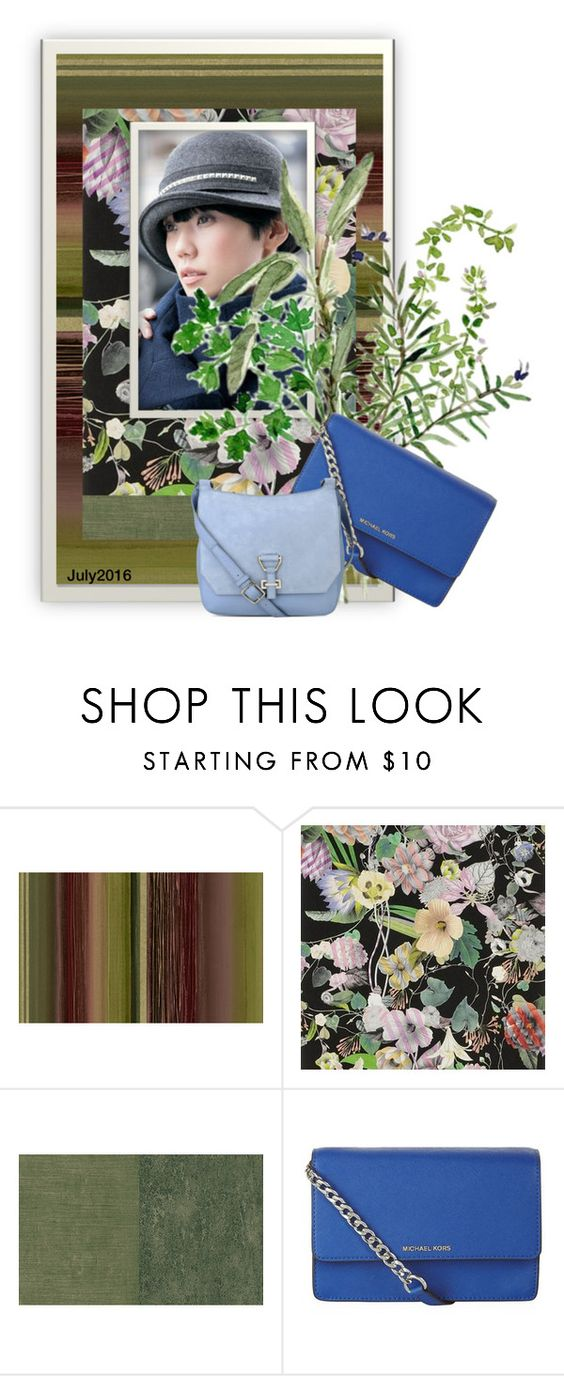"""Geen titel #28077"" by lizmuller ❤ liked on Polyvore featuring Seabrook, Designers Guild, MICHAEL Michael Kors and Nine West"