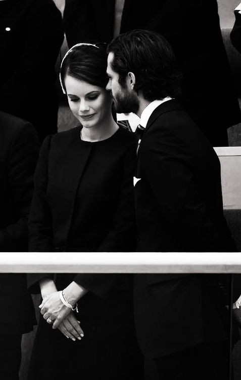 anythingandeveyrthingroyals:  Sofia Hellqvist and Prince Carl Philip