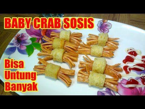 Jajanan Anak Yang Lagi Viral Baby Crab Sosis Bisa Untung Banyak Youtube Sosis Resep Sosis Resep Makanan