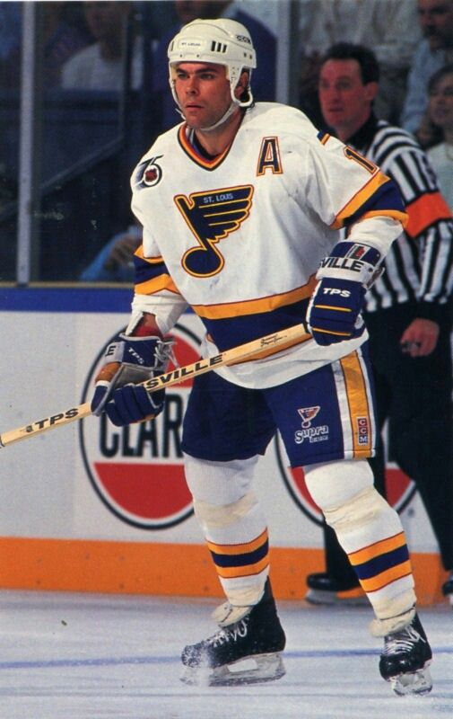 Adam Oates | St. Louis Blues | NHL | Hockey