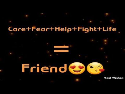 Dear Best Friend Statusquotesheart Touching Friendship