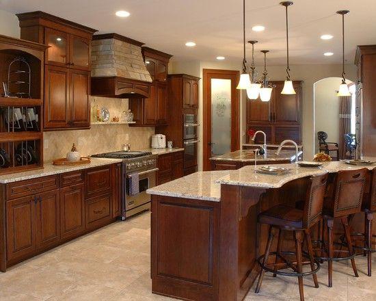 küche design mit traditionellem twist