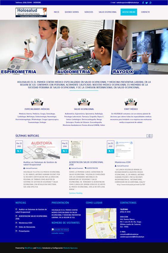 Centro médico especializado en salud ocupacional y medicina preventiva laboral en la región de Ica.