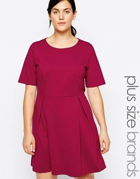 New Look Inspire – Kurzärmliges Ponte-Kleid