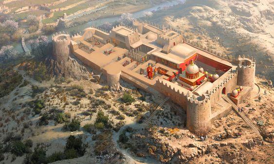Mes Aynak temple , Rocío Espín Piñar