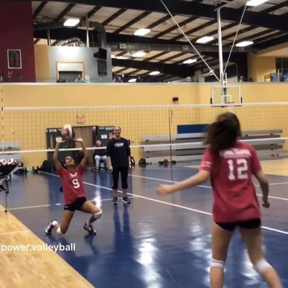 Power Volleyball On Instagram Setter Training Follow Power Volleyball Official Power Volleyball Officia Volleyball Volleyball Drills Instagram