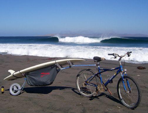 Good Gear Amp Gadgets Wheele Bike Surfboard Rack Nautica
