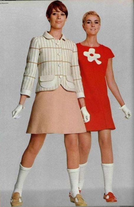 André Courrèges Outfits - 1967 L'Officiel De La Mode - 547-548