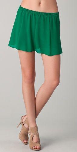 chiffon shorts to embellish....    BB Dakota A'Marie Shorts
