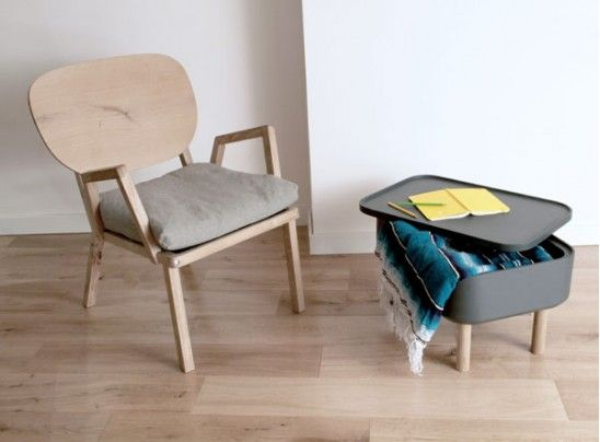 Chaise Dada, design Paul #Bellila - #matea