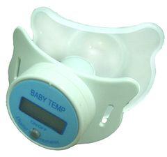 奶嘴式電子體溫計 產品圖展示