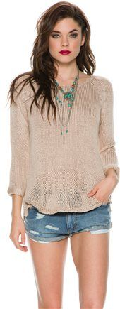 SWELL Oversized Sweater.