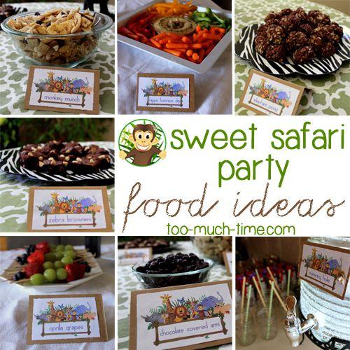 Safari Birthday Party, Safari And Birthday Parties On