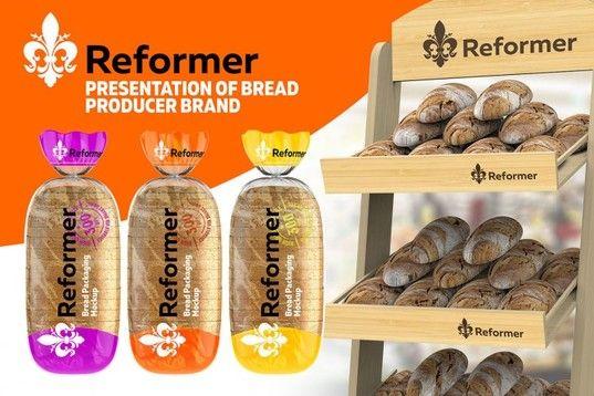 Download Glossy Transparent Bread Package Presentation 2 Mockup Files Psd Mockup Bread Packaging Packaging Mockup Free Mockup