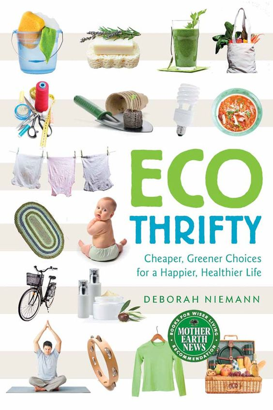 """""""Ecothrifty"""" is packed with simple, practical ideas to leading a greener life while saving money. Covering topics such as personal care products, babies and entertainment, this handy book will show you how small changes can have a huge environmental impact and save you money. Read an excerpt from this book on how to raise an eco-friendly baby the thrifty way."""