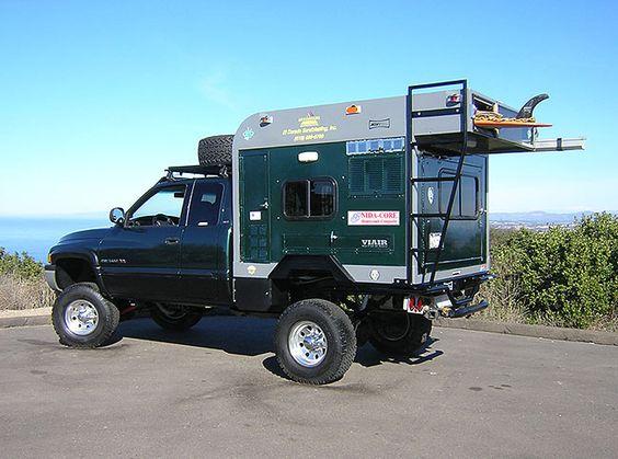 4x4 Truck Camper Conversions Autos Post