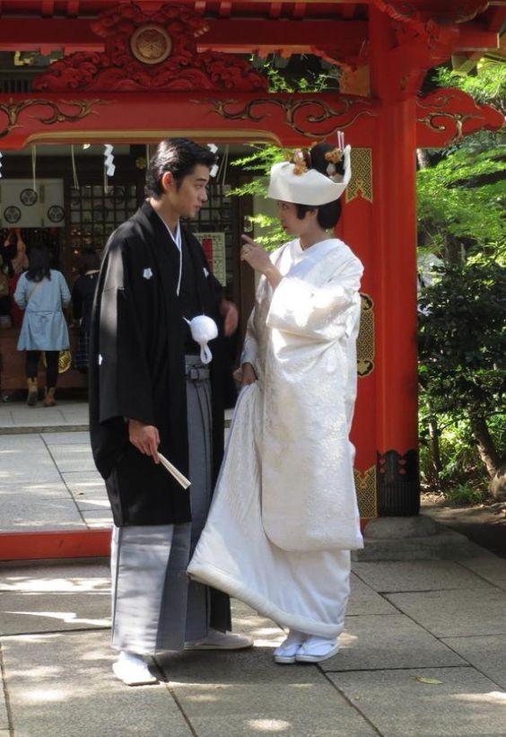 結婚式の時の東出夫婦