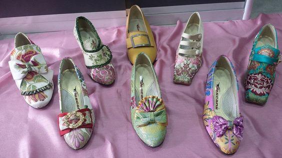 zapatos de fallera de descans