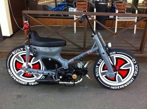 honda c90 | motor phycho | pinterest | honda, honda cub and mopeds